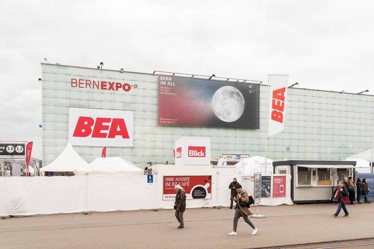 Das Programm im Überblick: Die Universität Bern zu Gast an der BEA - Bern  im All
